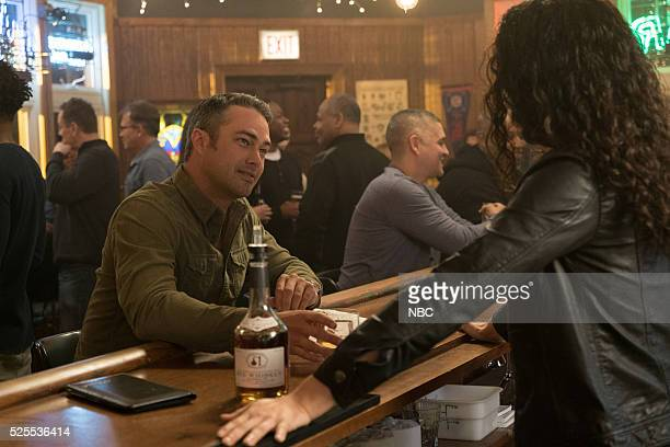 FIRE Kind of a Crazy Idea Episode 421 Pictured Taylor Kinney as Kelly Severide Miranda Rae Mayo as Stella Kidd