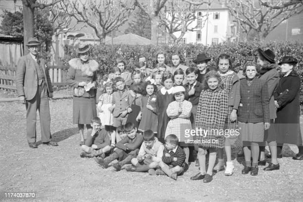 Kinder aus Frankreich in Lugano 1946