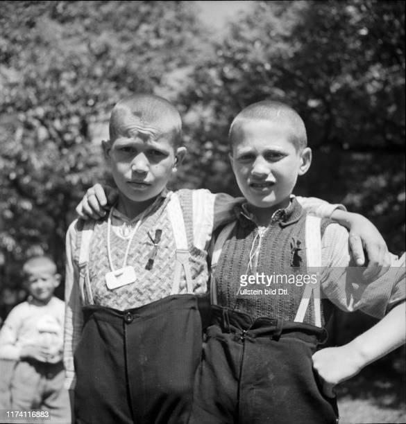 Kinder aus Serbien auf Erholungsurlaub in der Schweiz, 1942