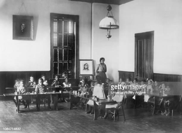 Kindergarten Class, Haines Normal and Industrial Institute, Augusta, Georgia, USA, 1900.