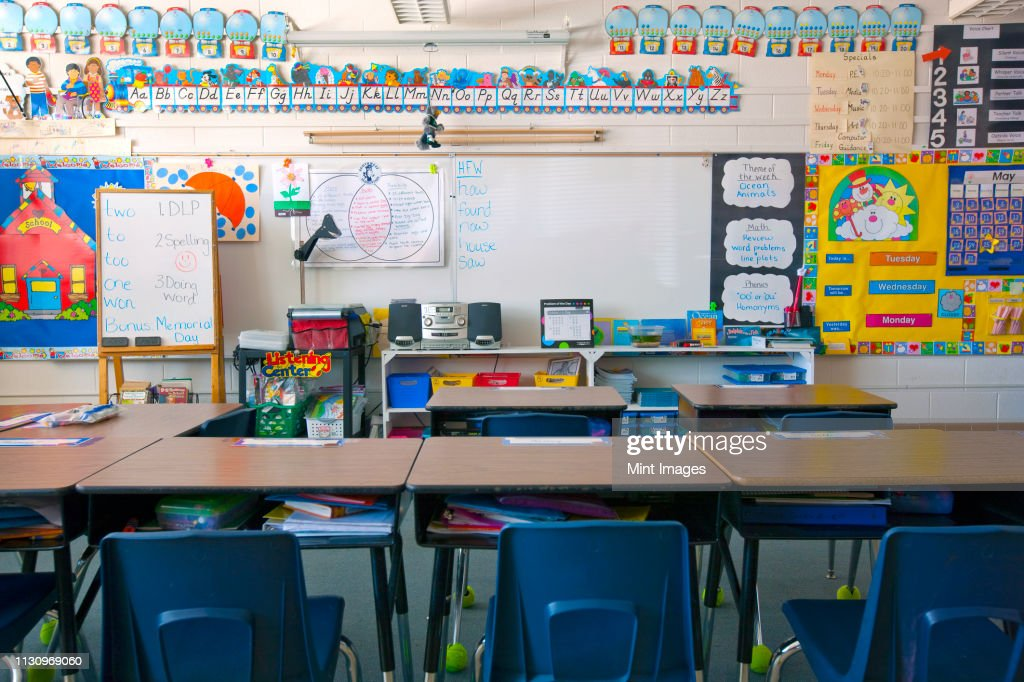 Kindergarten classroom : Stockfoto