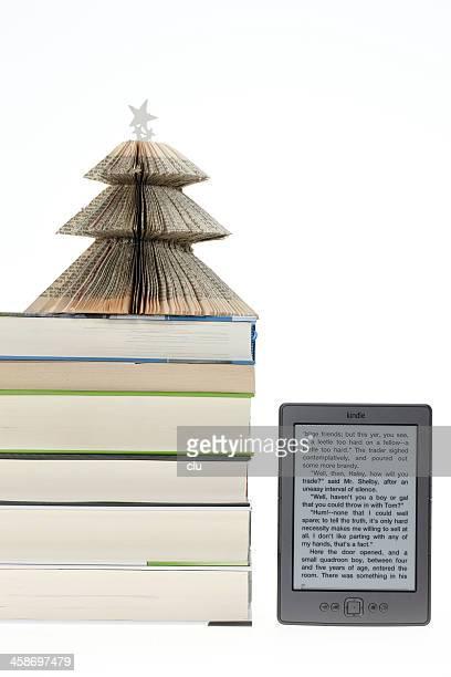 KIndle eBook Abgesehen von real Bücher und Weihnachten Baum