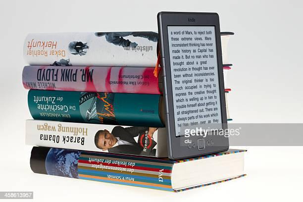 KIndle eBook vor Bücher