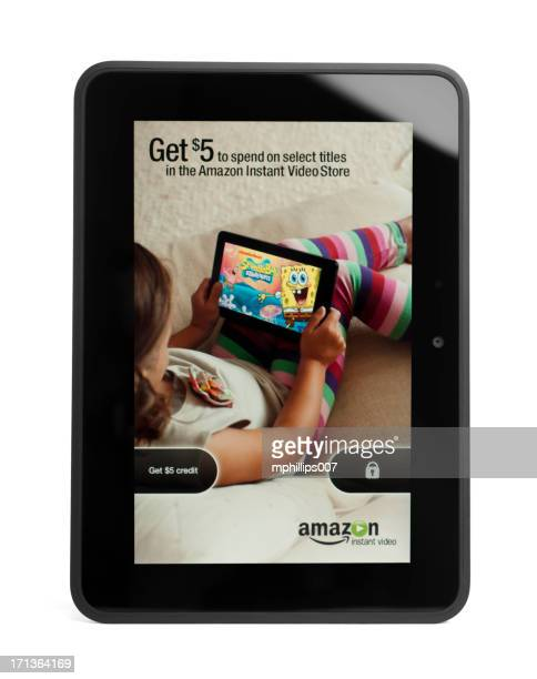 kindle fire hd - screen saver stock photos and pictures