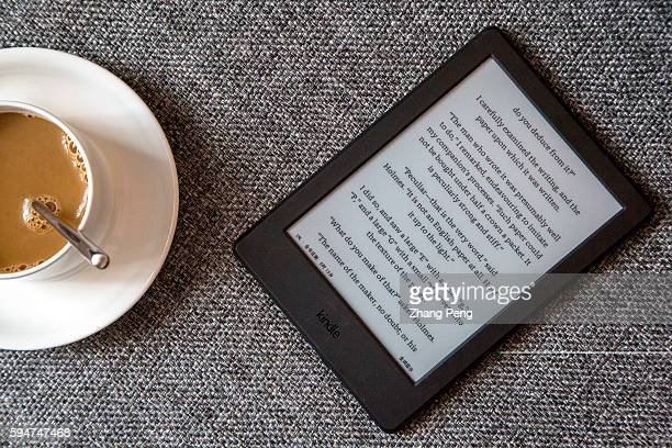 Kindle on a sofa Amazon released a new entry level Kindle in the mid of 2016 Now Amazon has a whole and largest ebook ecosystem