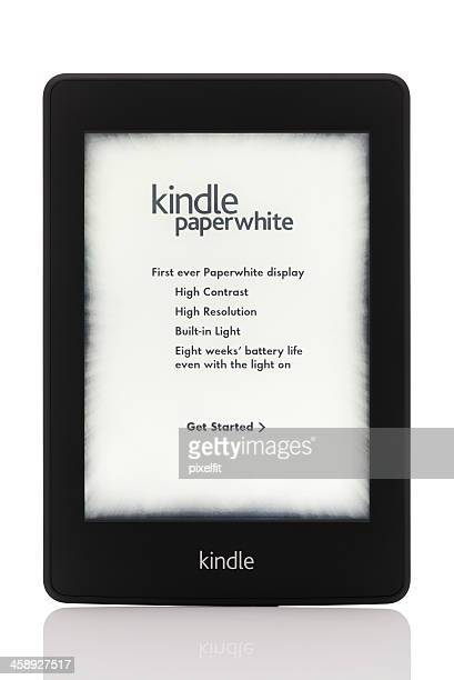 Kindle Paperwhite with clipping path
