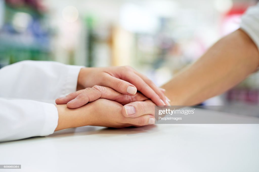 Kindness goes a long way towards healing : Stock Photo