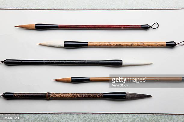 Kinds of brush pens