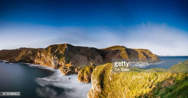 kinebane castle, county antrim, northern ireland, uk - county antrim stock pictures, royalty-free photos & images