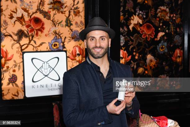 Kinetic Therapy attends Leesa Rowland's Animal Ashram PopUp Penthouse on February 7 2018 in New York City