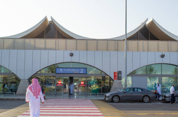 King Abdulaziz International Airport Terminal 2 Arrivals area