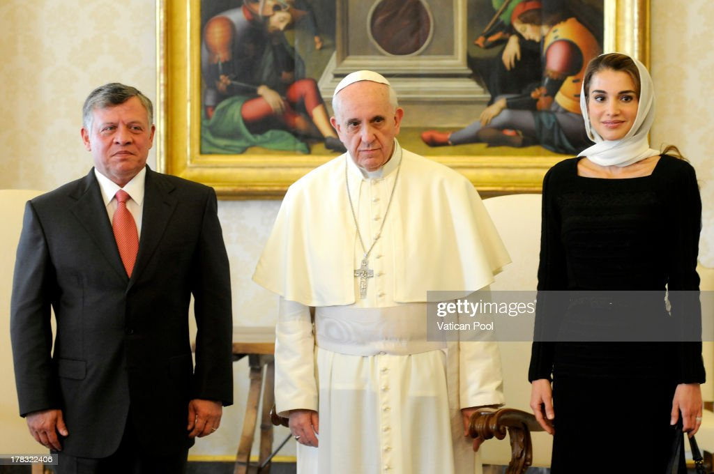 Pope Francis Meets King Abdullah II of Jordan