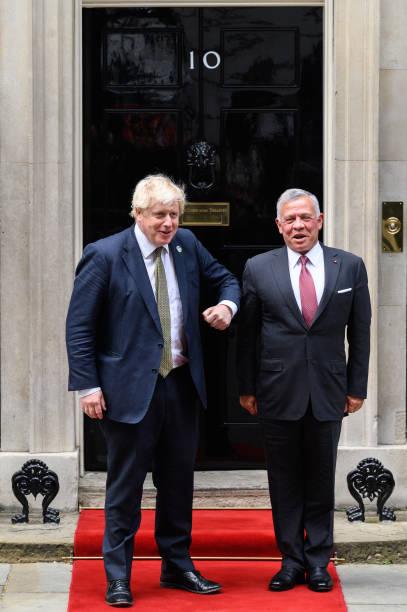 GBR: Prime Minister Welcomes His Majesty King Abdullah II, King of Jordan
