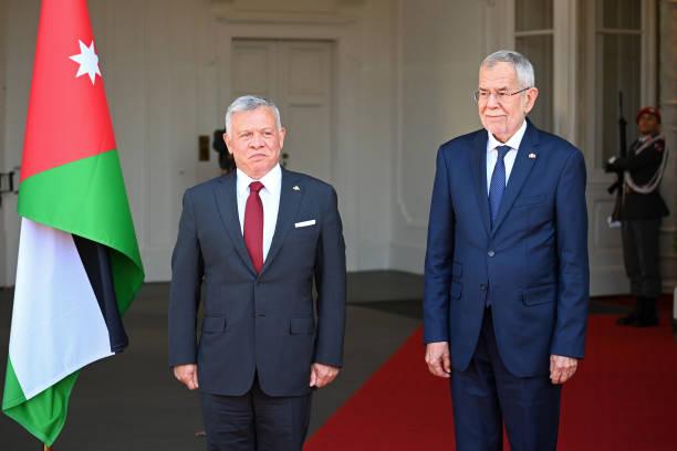 AUT: King Abdullah Of Jordan Visits Austria