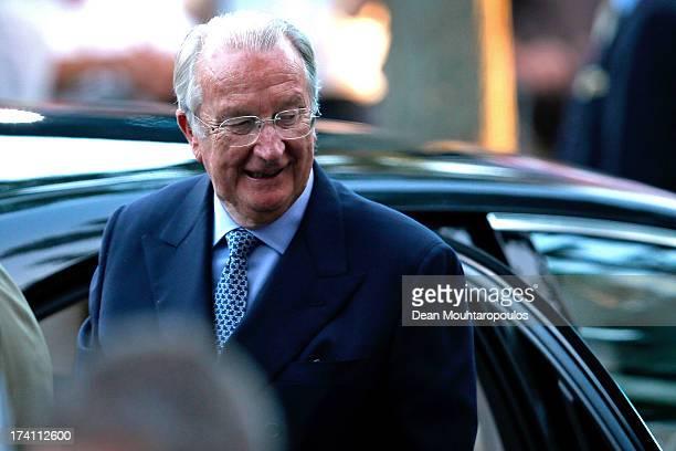King Albert II of Belgium attends the 'Bal National' Held Ahead Of Belgium Abdication & Coronation on July 20, 2013 in Brussels, Belgium.