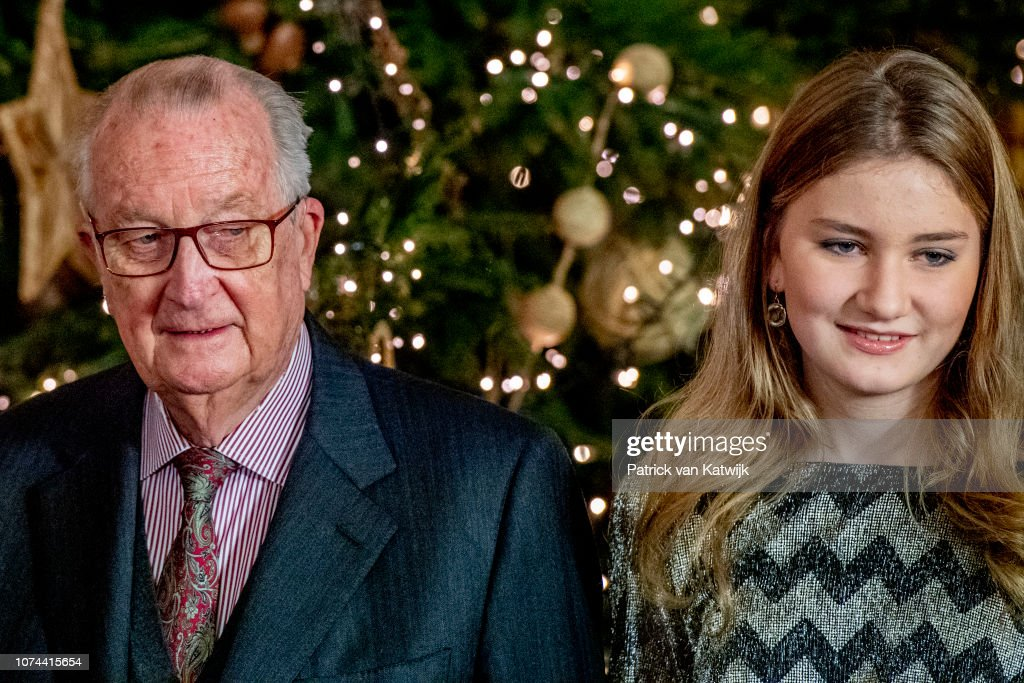 Belgian Royal Family Attends Christmas Concert In Royal Palace : News Photo
