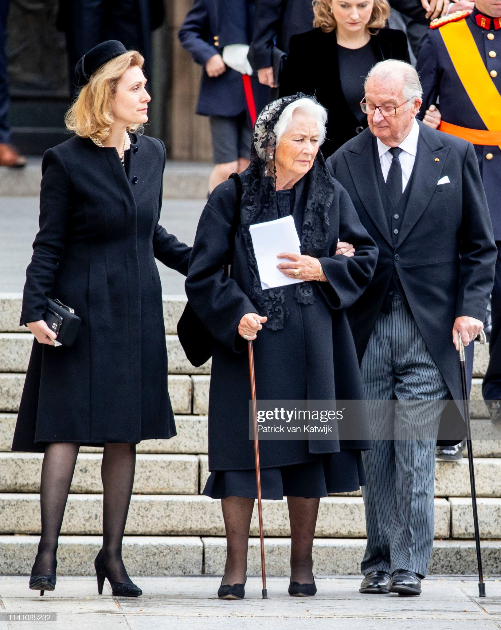 Похороны Великого Герцога Жана https://media.gettyimages.com/photos/king-albert-of-belgium-and-queen-paola-of-belgium-and-princess-of-picture-id1141085232?s=2048x2048