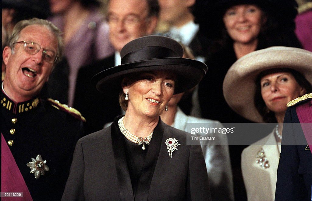 Queen Paola And King Albert Of Belgium : News Photo