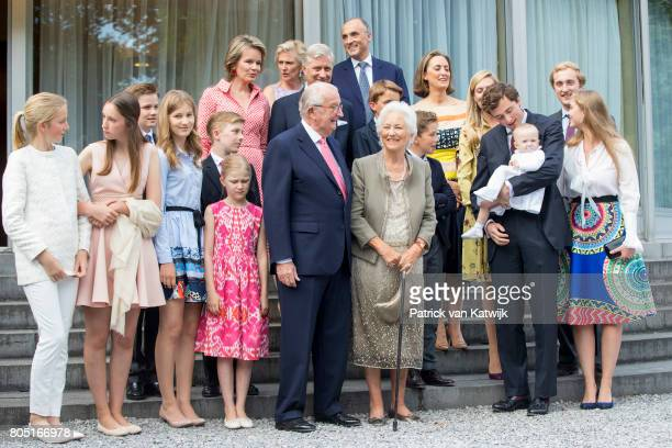 King Albert Queen Paola King Philippe Queen Mathilde Princess Elisabeth Prince Gabriel Prince Emmanuel Princess Eleonore Princess Astrid Prince...