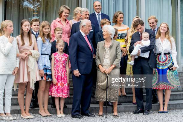 King Albert Queen Paola King Philippe Queen Mathilde Princess Elisabeth Prince Gabriel Prince Emmanuel Princess Eleonore Princess Astrid Prince...