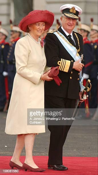 King Albert Queen Paola Of Belgium Attend The Wedding Of Crown Prince Felipe Of Spain Letizia Ortiz Rocasolano In Madrid