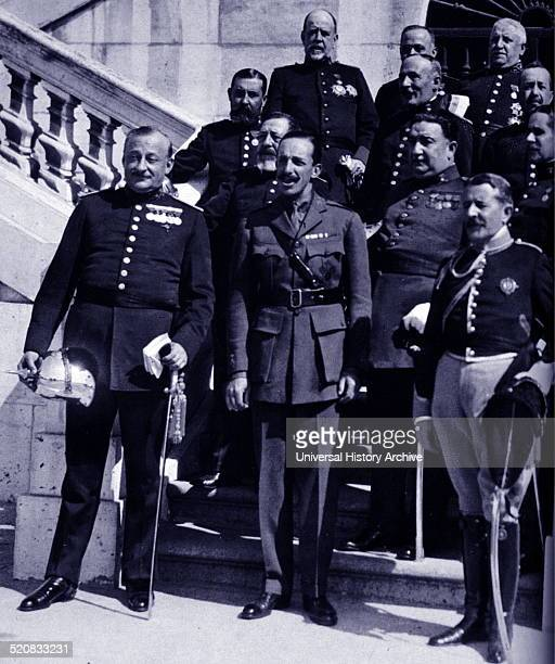 1923 king Alfonso XIII of Spain with Don Miguel Primo de Rivera Prime Minister of Spain from 1923 to 1930