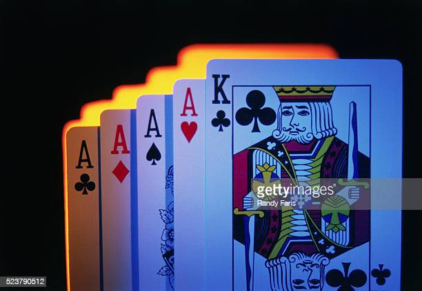 King and Four Aces