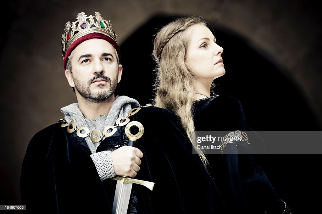 king and queen : Stock Photo