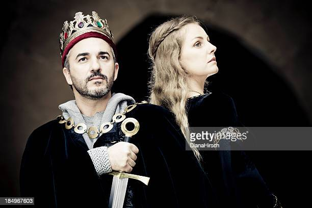 king and queen - redoubtable film stock photos and pictures