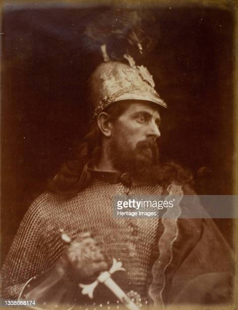 King Arthur, 1874. A work made of albumen print. Artist Julia Margaret Cameron.