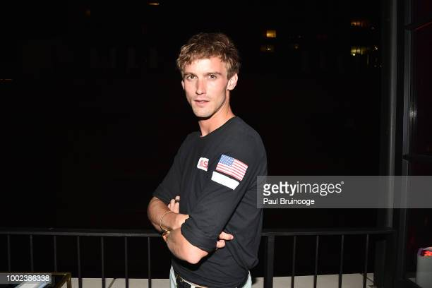 King attends Brian Feit's 40th Birthday Party at 550 West 29th Street on July 19 2018 in New York City