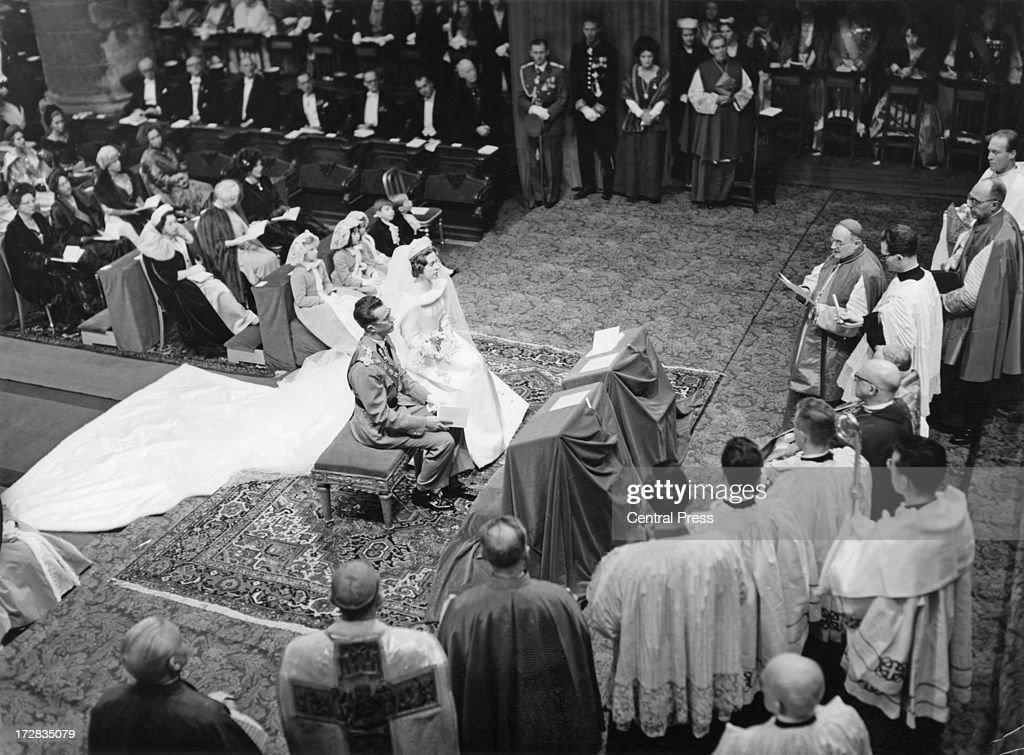 King Baudouin Of Belgium Marries Fabiola De Mora Y Aragon : News Photo