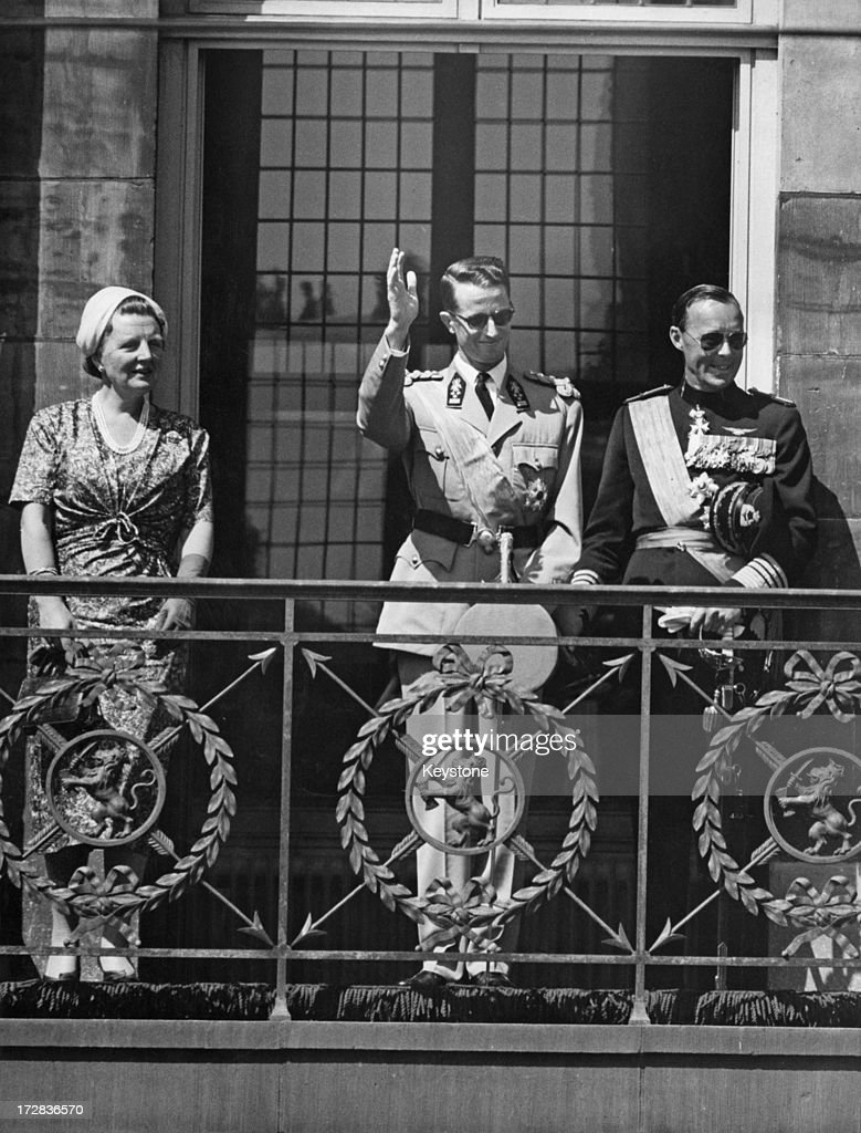 King Baudouin In Holland : News Photo