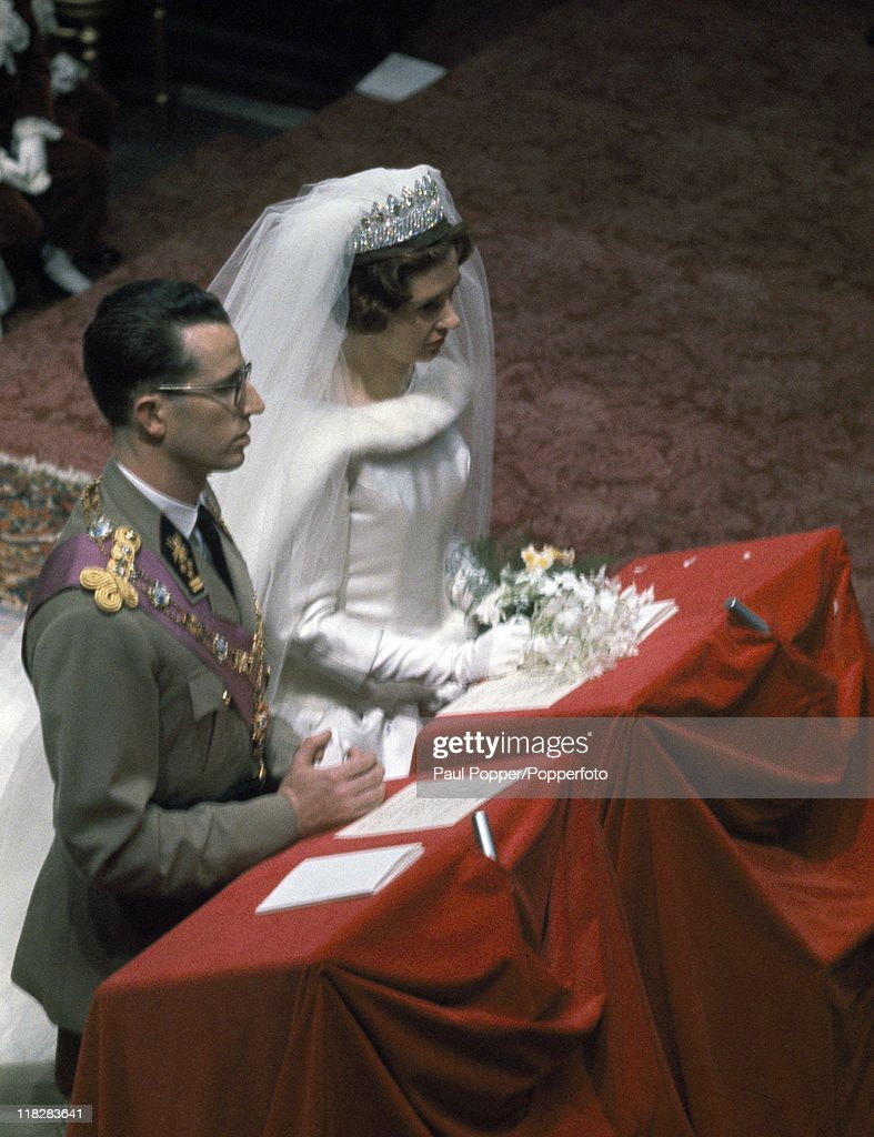 Wedding Of King Baudouin of Belgium : News Photo