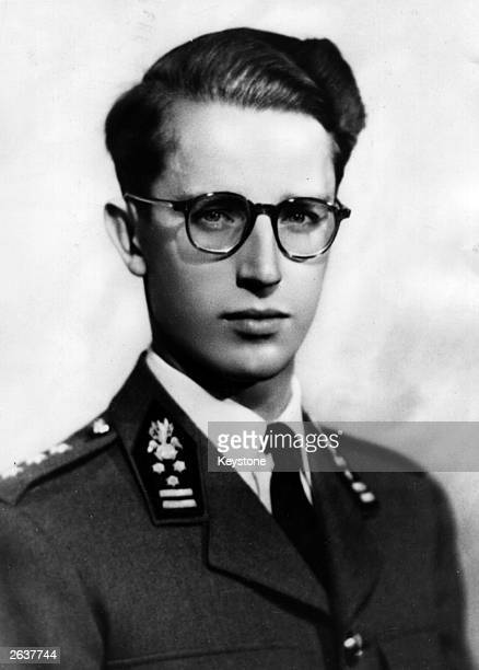 King Baudouin of Belgium, who became King on the abdication of his father King Leopold, on the 16th July 1951.