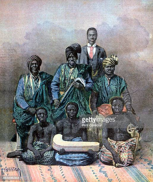 King Behanzin of Dahomey 1893 The last independent king of Dahomey Behanzin resisted French colonial expansion into his country The French emerged...