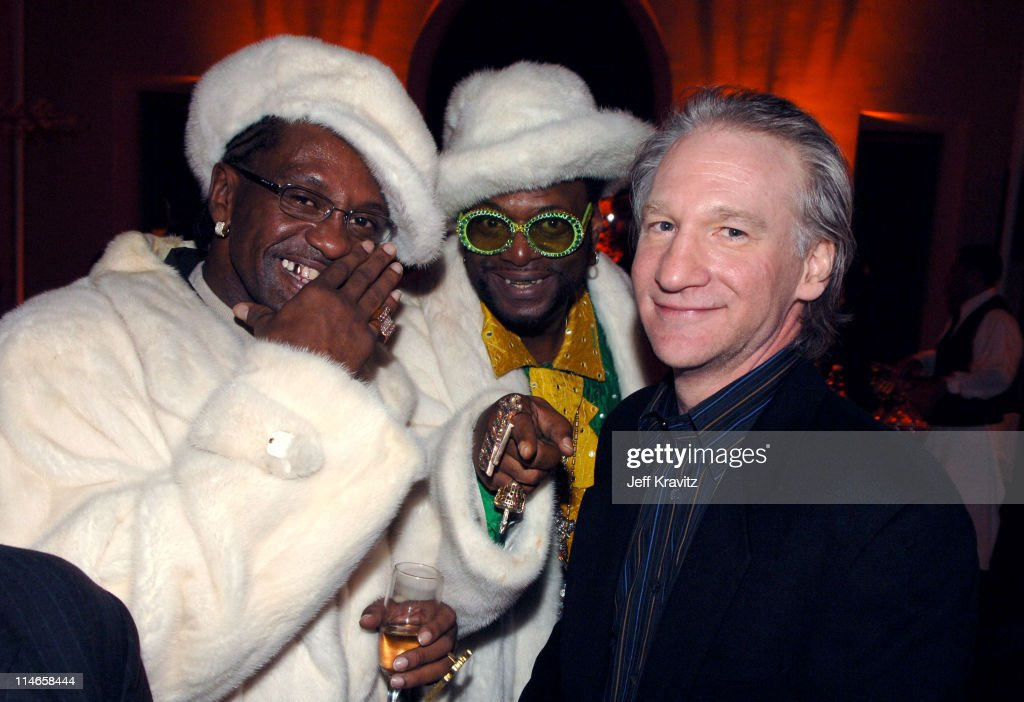 King Bert, The Bishop Don Magic Juan and Bill Maher