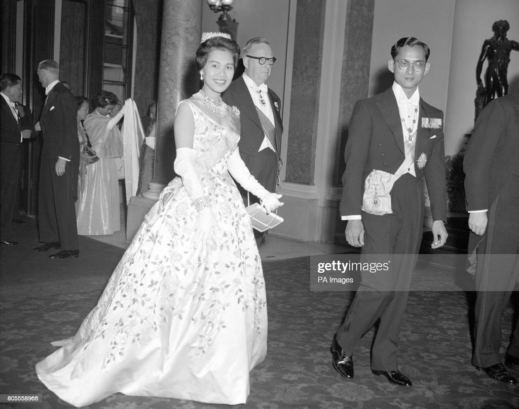 Royalty - King Bhumibol Adulyadej of Thailand State Visit - London : News Photo