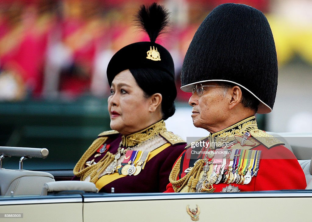 King Of Thailand Attends Trooping Of The Colour