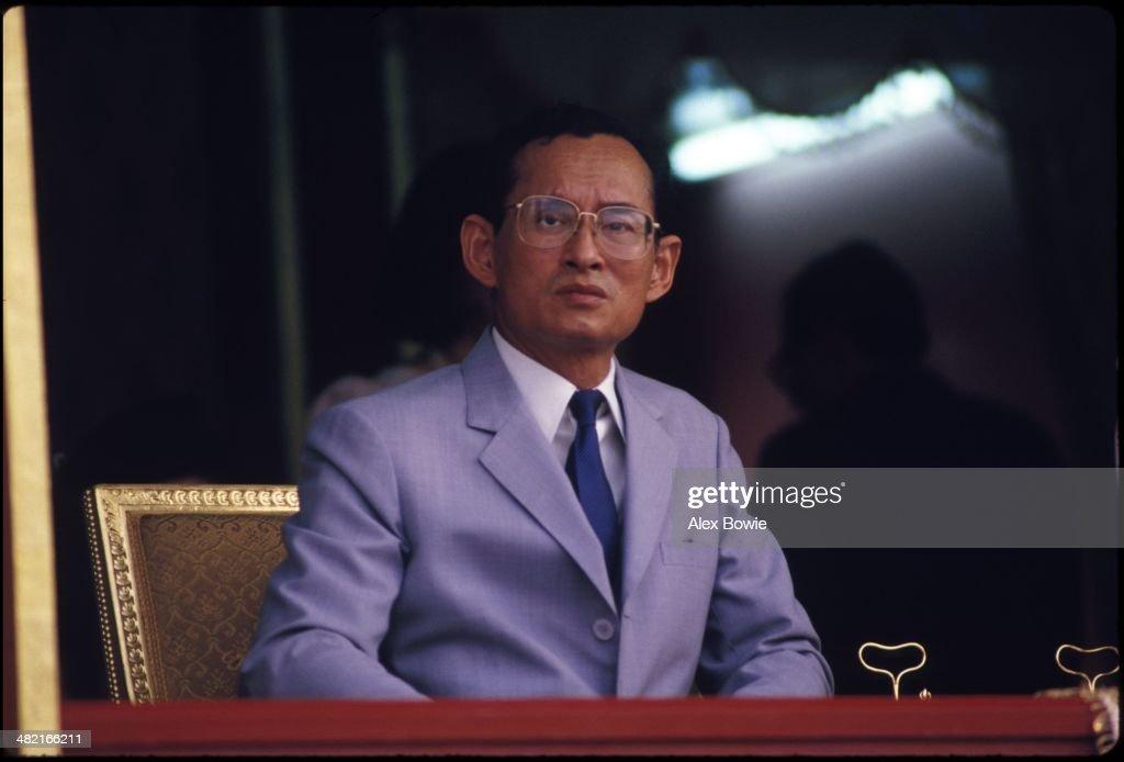 King Bhumibol Adulyadej : News Photo