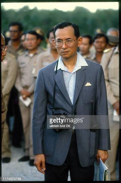 King Bhumibol of Thailand, 1987