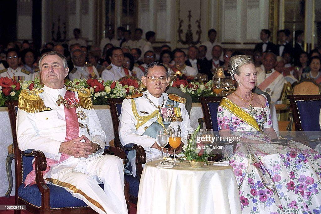 Queen Margrethe And Prince Henrik Of Denmark State Visit To Thailand : News Photo