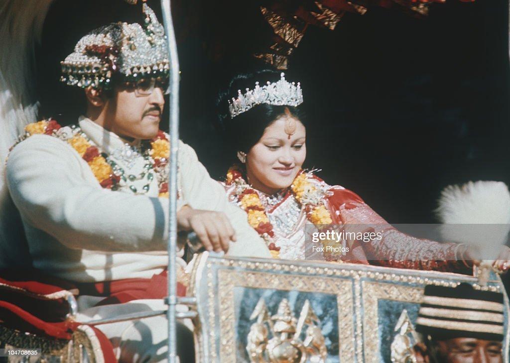 Coronation Of King Birendra : News Photo