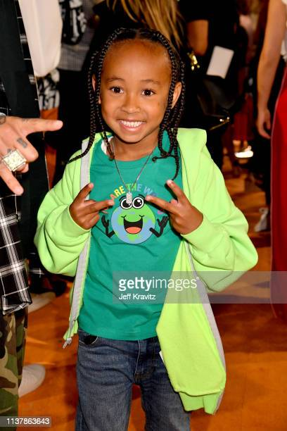 King Cairo Stevenson attends Nickelodeon's 2019 Kids' Choice Awards at Galen Center on March 23 2019 in Los Angeles California