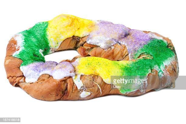 Grand gâteau de Mardi Gras