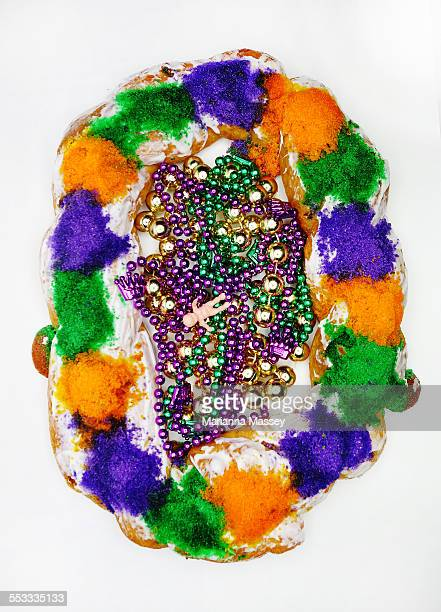 king cake - king cake stock pictures, royalty-free photos & images