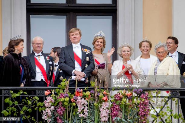 King Carl Gustaf and Queen SilviaPrince Carl Philip of Sweden King WillemAlexander and Queen Maxima Princess Beatrix and Princess Mabel of The...