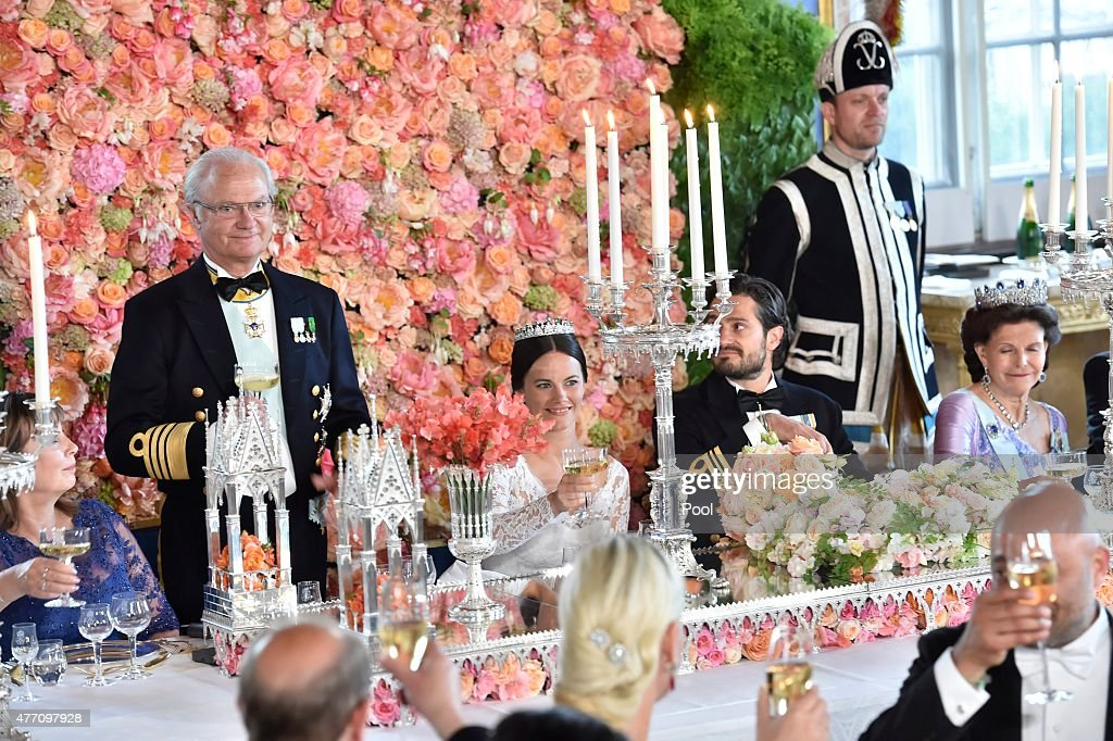 Banquet: Wedding Of Prince Carl Philip Of Sweden And Sofia Hellqvist : News Photo