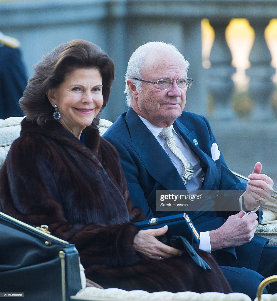 Concert Arrivals - King Carl Gustaf of Sweden Celebrates His 70th Birthday : News Photo
