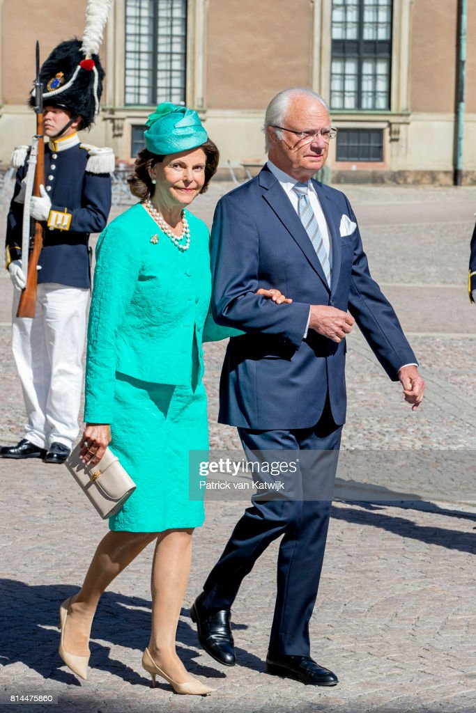 Crown Princess Victoria of Sweden 40th Birthday Celebrations in Stockholm : News Photo